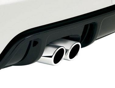volkswagen jetta exhaust tips polished metal design  yorkdale volkswagen north