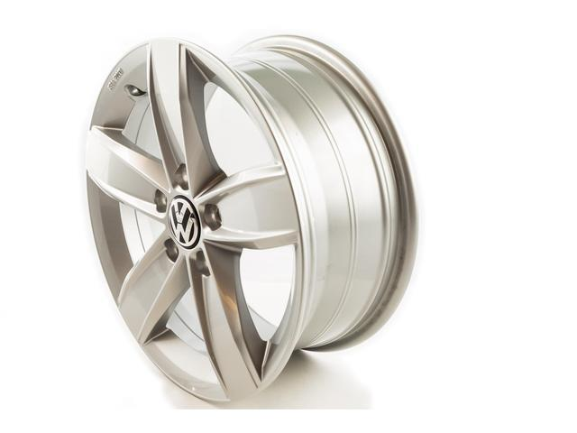 5C00714968Z8 - Volkswagen 16 corvara winter wheel - brilliant silver. Wheels, alloy wheel, mag ...
