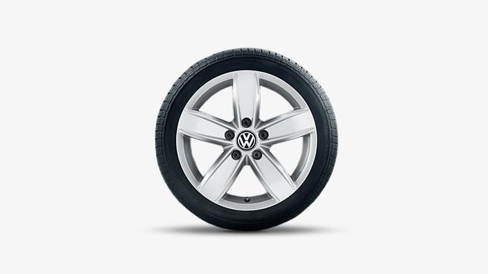 cz volkswagen  corvara winter wheel brilliant silver wheels alloy wheel mag
